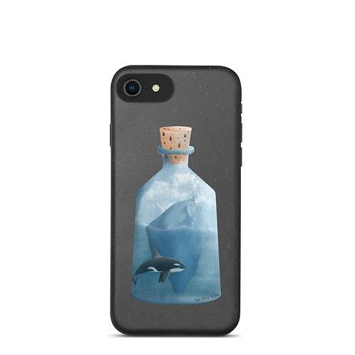 Biodegradable iPhone Case - Bottled Glacier