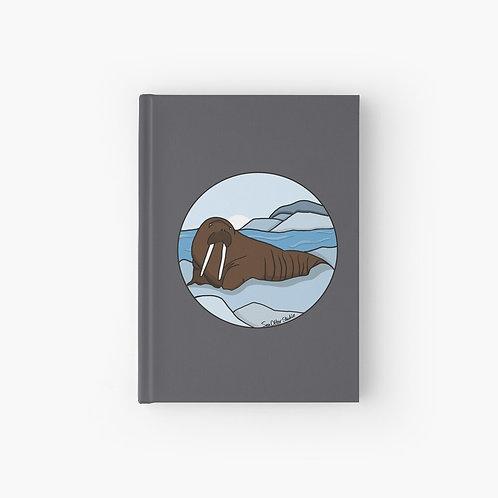Hardcover Journal - Walrus