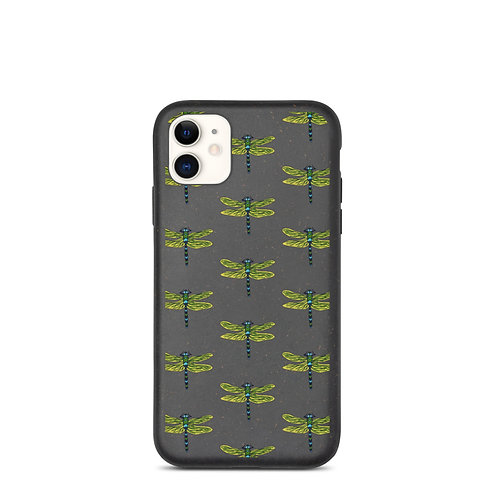 Biodegradable iPhone Case - Dotted Dragonfly