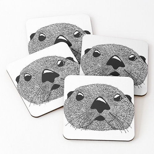 Coasters - Squiggly Otter