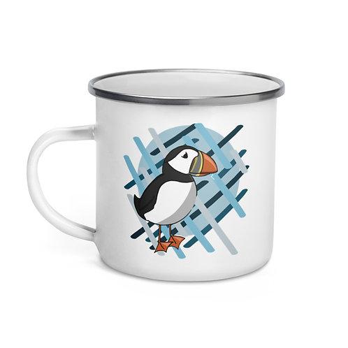 Enamel Mug - AK Puffin