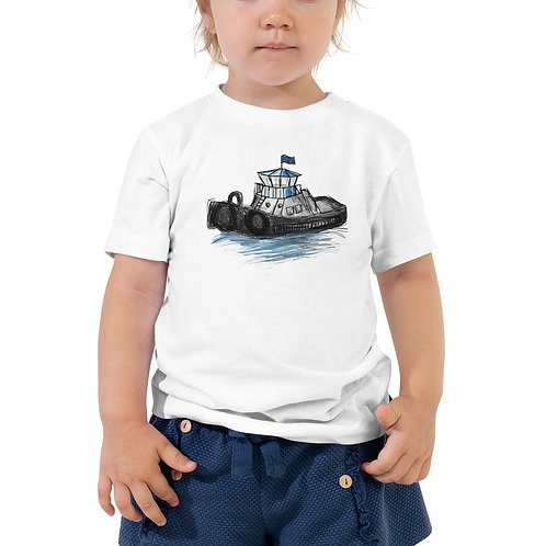 Toddler Short Sleeve Tee - Tug Boat