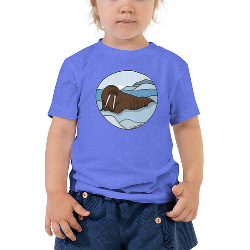 Toddler Short Sleeve Tee - Walrus