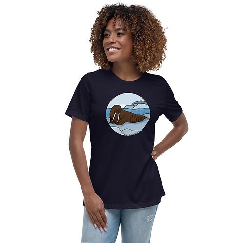 Women's Relaxed T-Shirt - Walrus