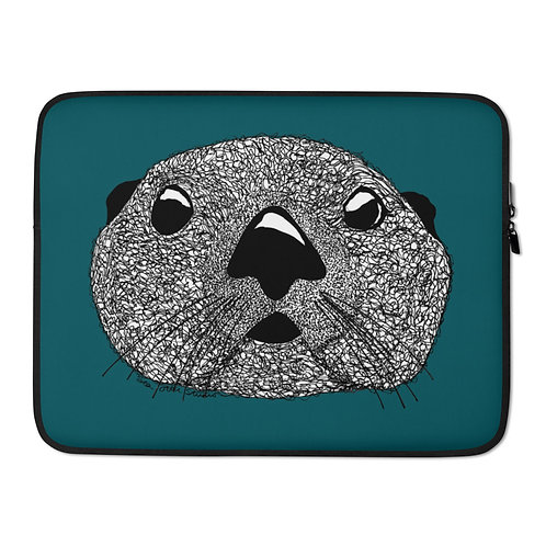 Laptop Sleeve - Squiggly Otter