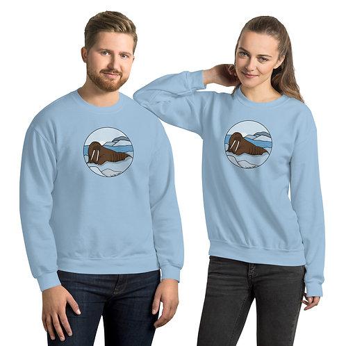 Unisex Sweatshirt - Walrus
