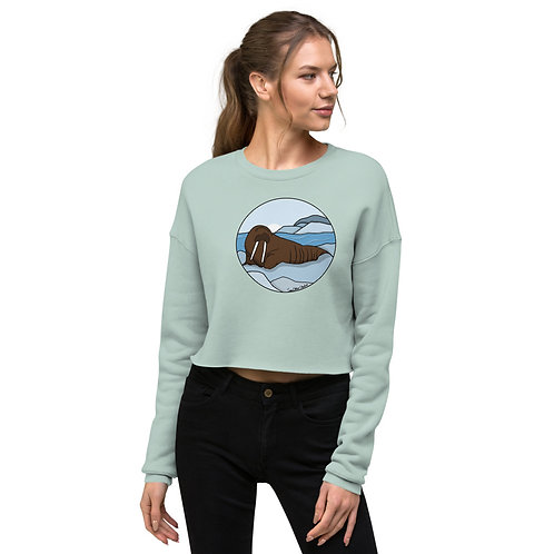 Crop Sweatshirt - Walrus