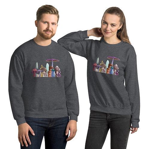 Unisex Sweatshirt - Mushrooms