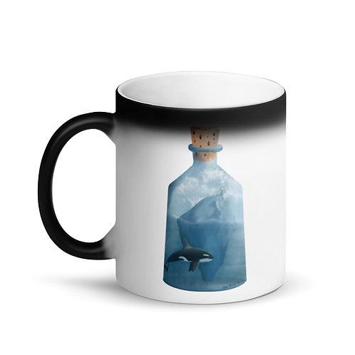 Matte Black Magic Mug - Bottled Glacier