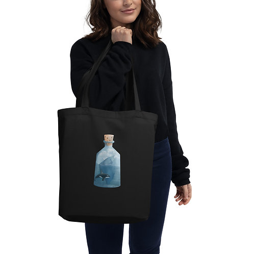Eco Tote Bag - Bottled Glacier
