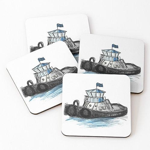 Coasters - Tug Boat