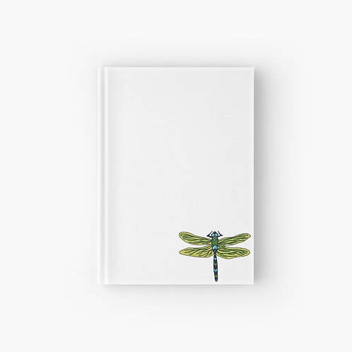 Hardcover Journal - Dotted Dragon Fly