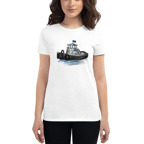 Women's Short Sleeve T-Shirt - Tug Boat