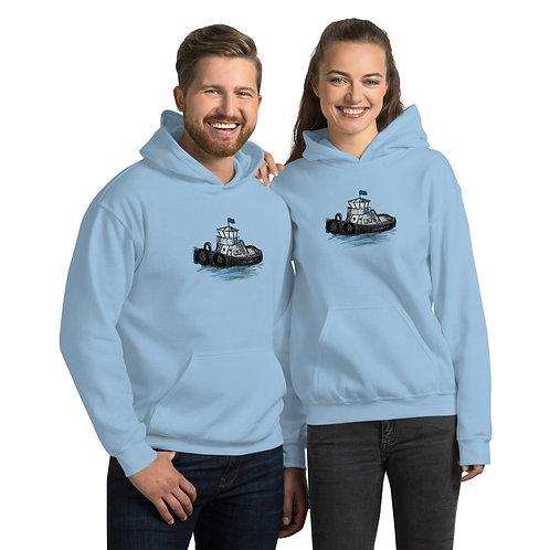 Unisex Hoodie - Tug Boat