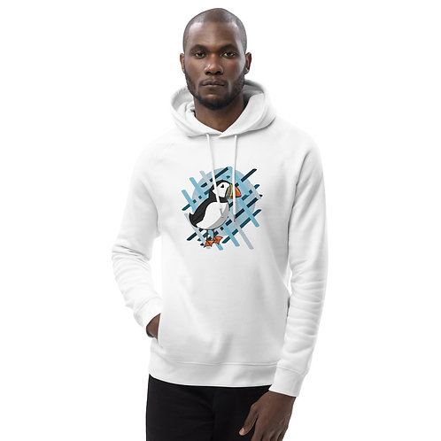 Unisex Eco Hoodie - AK Puffin