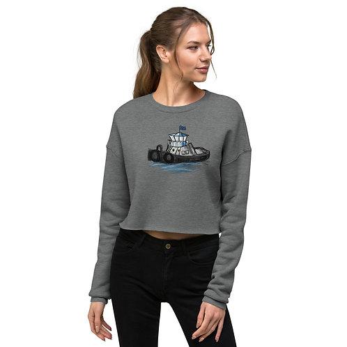 Crop Sweatshirt - Tug Boat