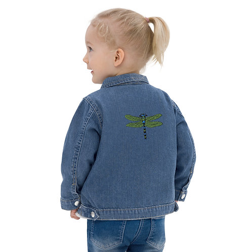 Baby Jean Jacket - Dotted Dragonfly