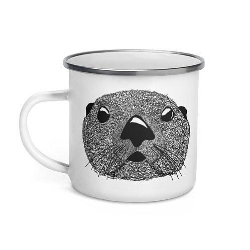 Enamel Mug - Squiggly Otter