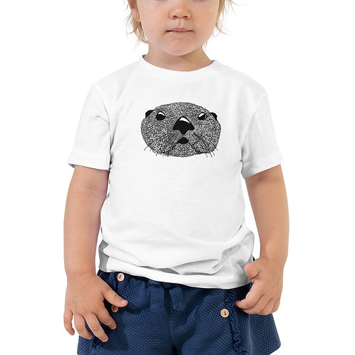 Toddler Short Sleeve Tee - Squiggly Otter
