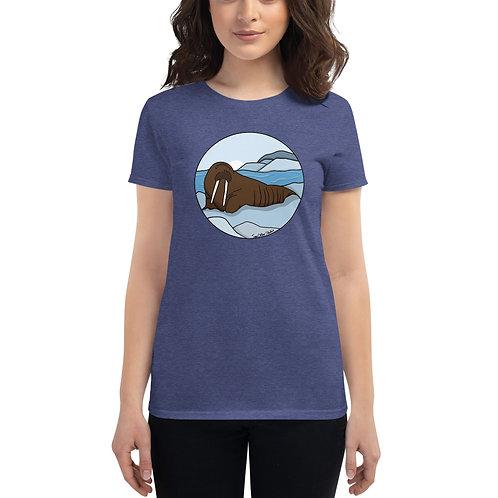 Women's Short Sleeve T-Shirt - Walrus