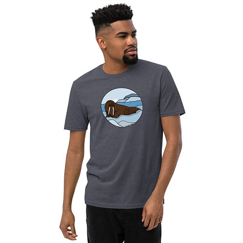 Unisex Recycled T-Shirt - Walrus