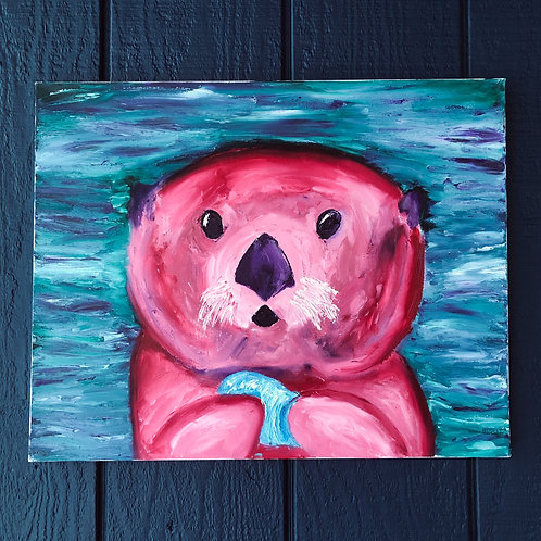 Pink Sea Otter
