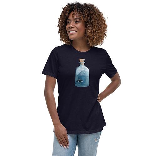 Women's Relaxed T-Shirt - Bottled Glacier
