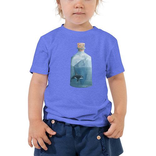 Toddler Short Sleeve Tee - Bottled Glacier
