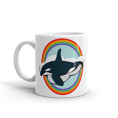Mug - Rainbow Orca