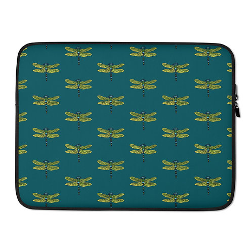 Laptop Sleeve - Dotted Dragonfly