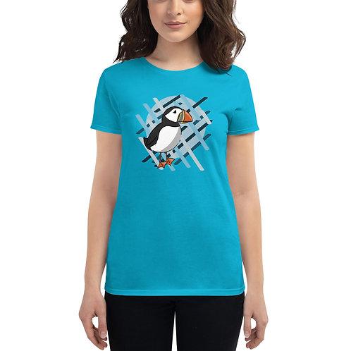 Women's Short Sleeve T-Shirt - AK Puffin