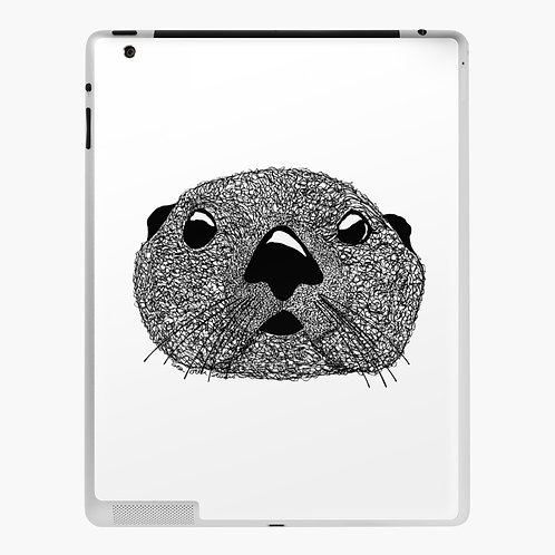 iPad Skin - Squiggly Otter