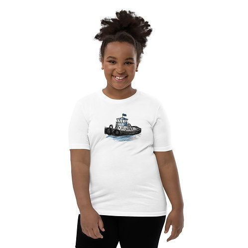 Youth Short Sleeve T-Shirt - Tug Boat