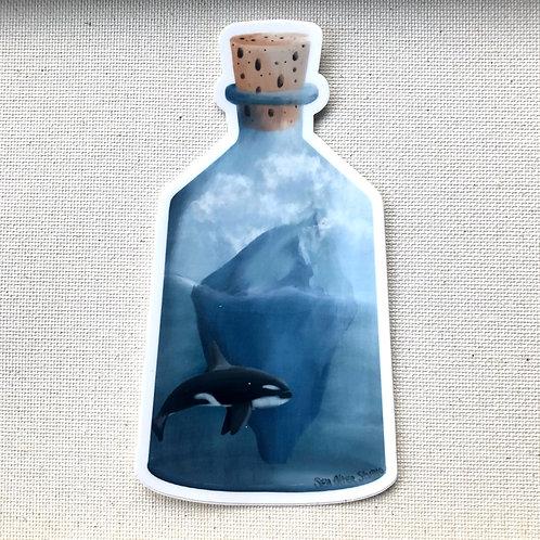 Sticker -Bottled Glacier