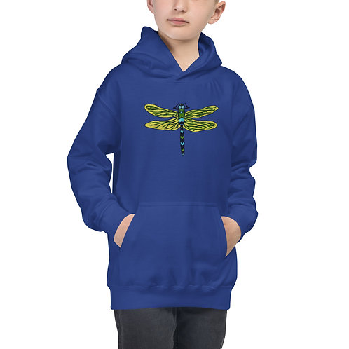 Kid's Hoodie - Dotted Dragonfly