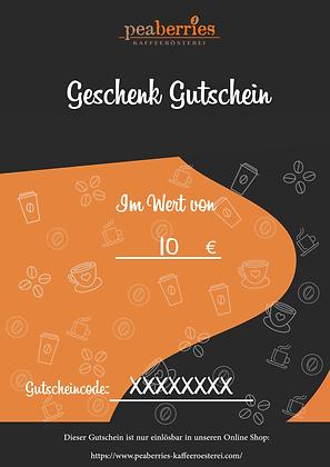10€ eGutschein