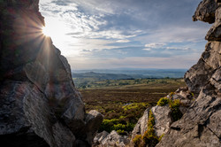 Sunset from the Stiperstones