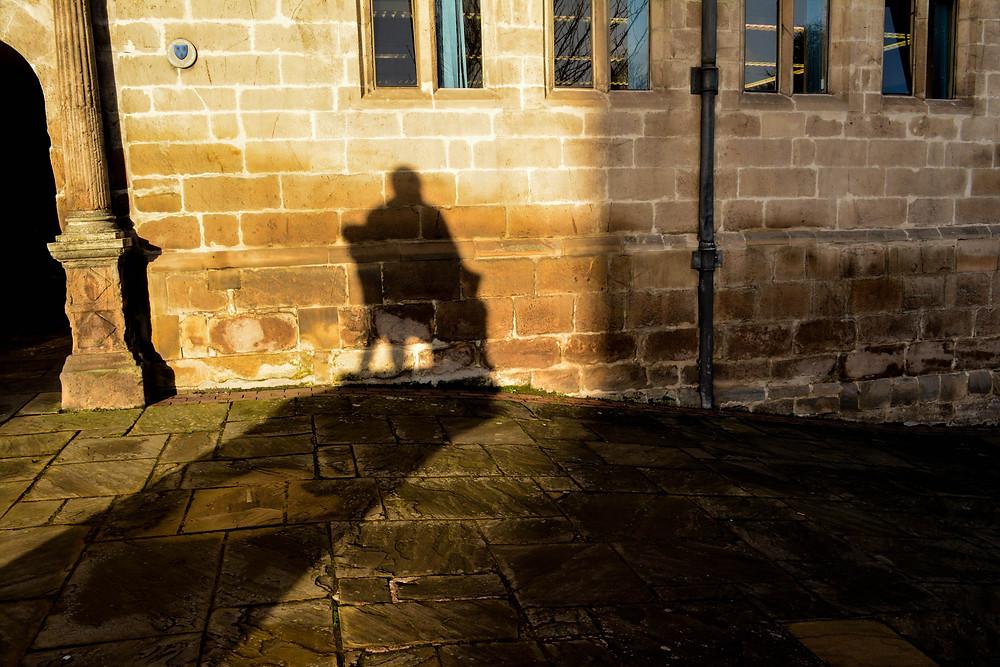 Darwin's statue - Shrewsbury Library
