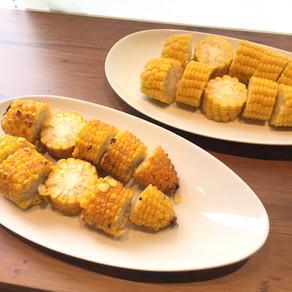7月の朝食はトウモロコシ祭り開催