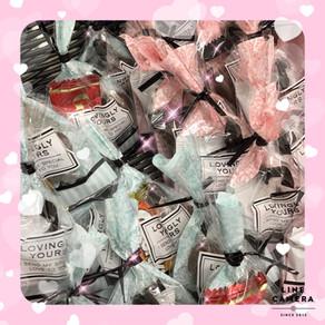 2月14日はチョコレートのプレゼントをご用意してお待ちしております