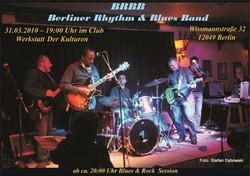 BRBB live at  Werkstatt der Kulturen