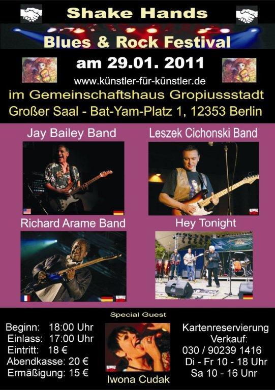 Blues & Rock Festival, Berlin