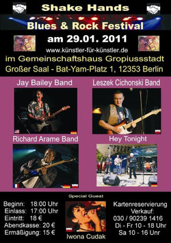 Blues & Rock Festival, Berlin