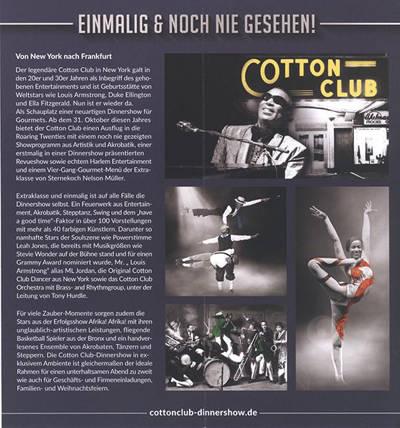 Cotton Club, Frankfurt