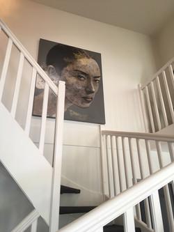 escalier après
