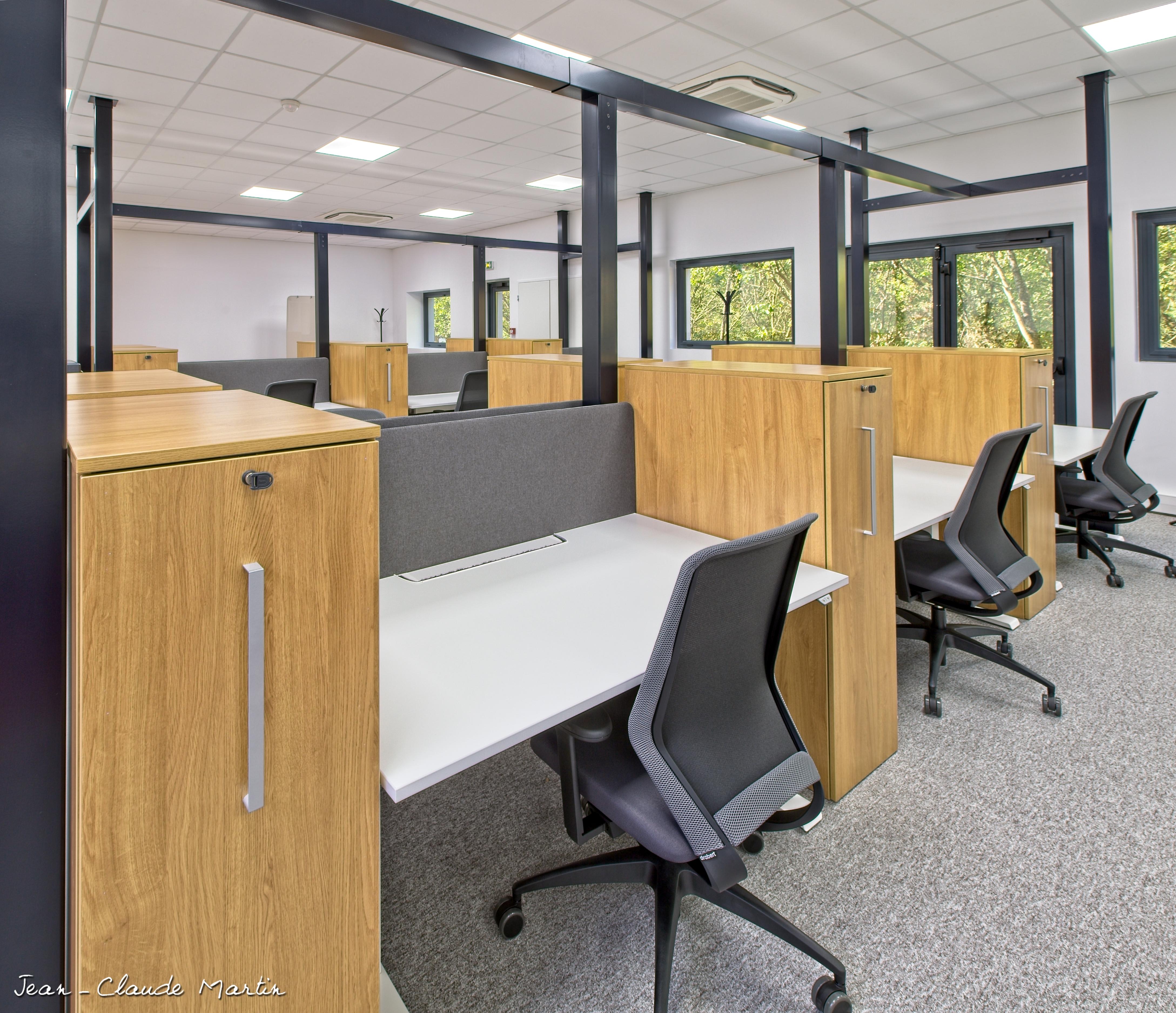 Les bureaux détail