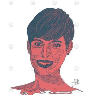 Anne Hattaway et son sourire One Line C1