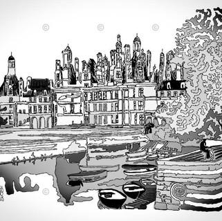 Château de Chambord One Line C1 6EC2A6D9
