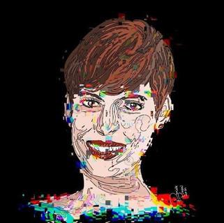 Anne Hattaway's Smile One Line C1