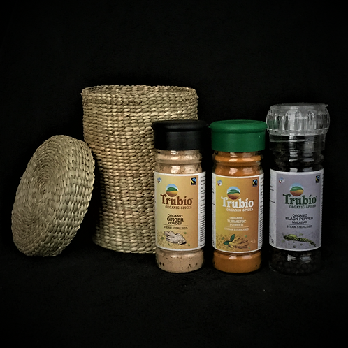 3 Organic Spices - Gift Pack